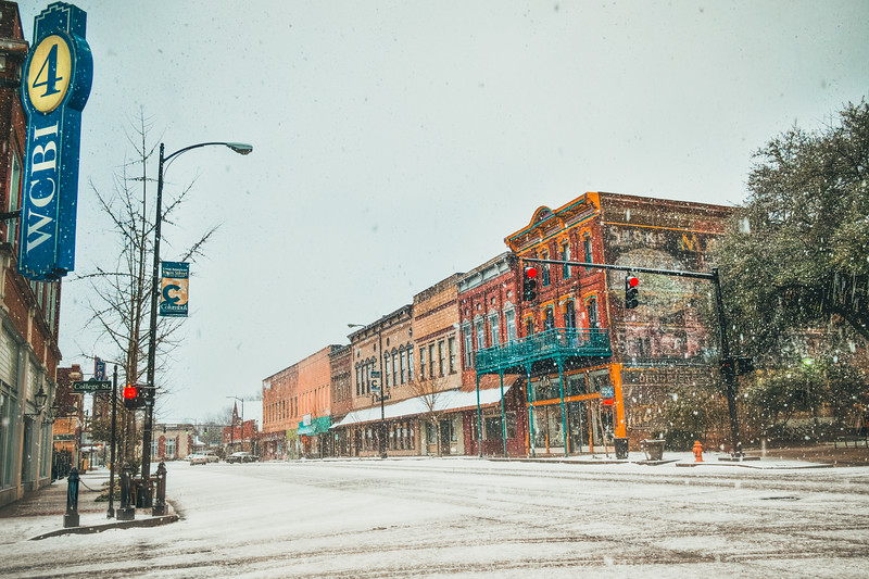 Downtown Snow