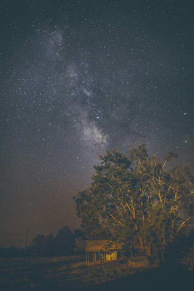 Milky Way Over Crawford