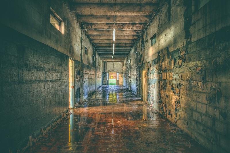 Wet Hallway