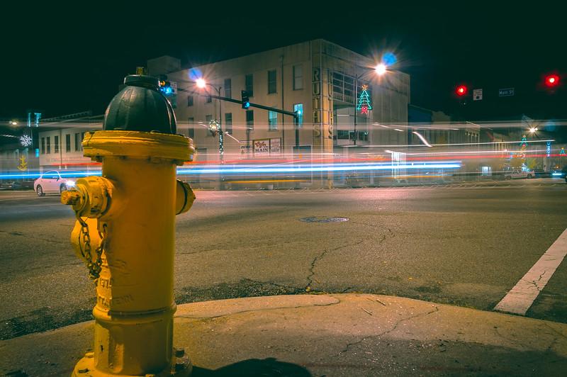 Downtown Light Trails