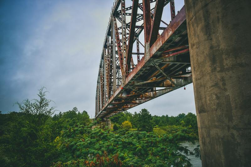 River Train Bridge
