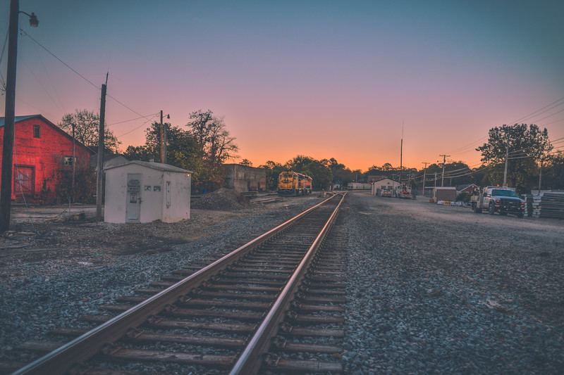 Railroad Sunrise