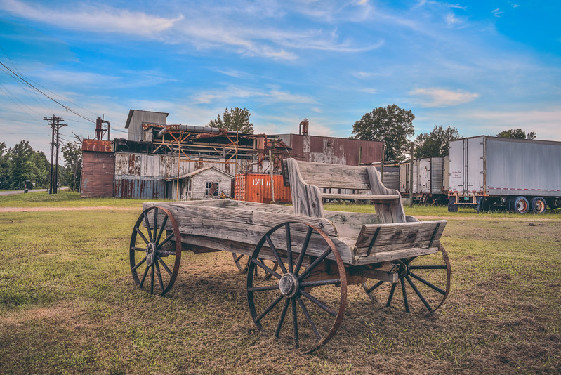 Cotton Gin Carriage