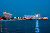 Casinos and hotels in Biloxi, Mississippi, USA, America.