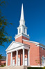The First Baptist church in Gulfport, Mississippi, USA, America.