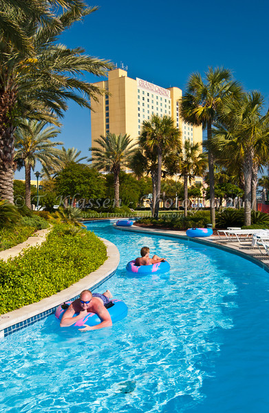 Water sports at the Grand Casino in Gulfport, Mississippi, USA, America.