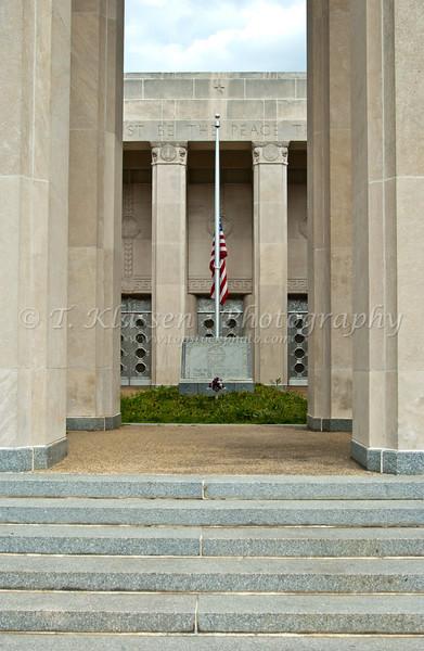 The Mississippi War Memorial in Jackson Mississippi, USA, America.