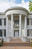 Southern colonial architecture in Jackson Mississippi, USA, America.