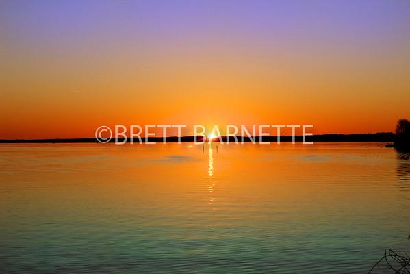 Reservoir Sunsets