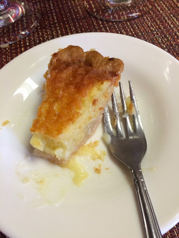 The Crown's chess pie