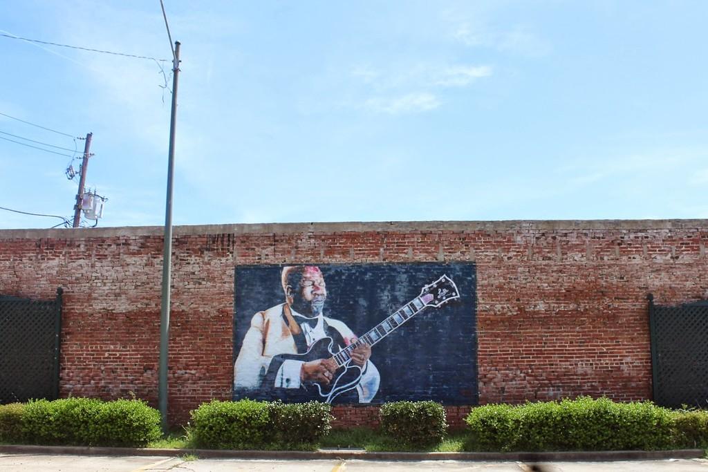 BB King Mural