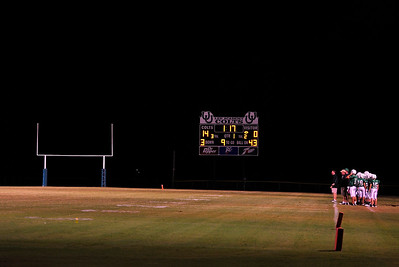 Lee Academy High School Football Game, Friday Night under the lights, Clarksdale Ms.