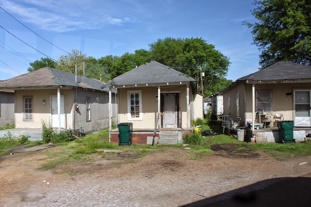 Shotgun homes in Greenwood