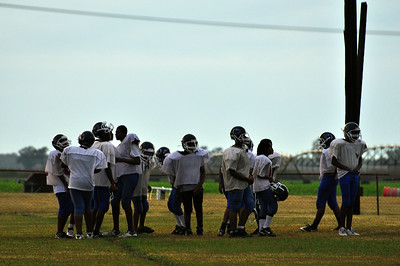 Clarksdale High School Wildcats Football Practice