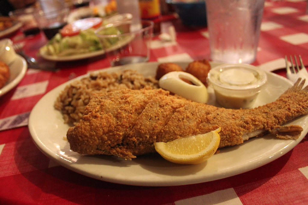 Catfish at Taylor Grocery