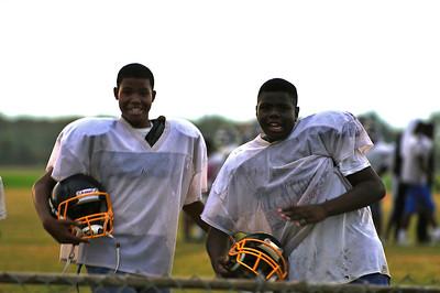 Clarksdale High School Wildcats Football Practice