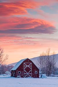 Cool Sunset - Missoula, Montana