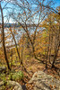 Bluff above Katy Trail near Weldon Springs trailhead in Missouri - C1-0008 - 72 ppi