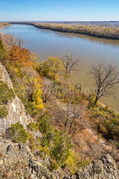 Walker on Katy Trail near Weldon Springs trailhead in Missouri - C1-0151 - 72 ppi