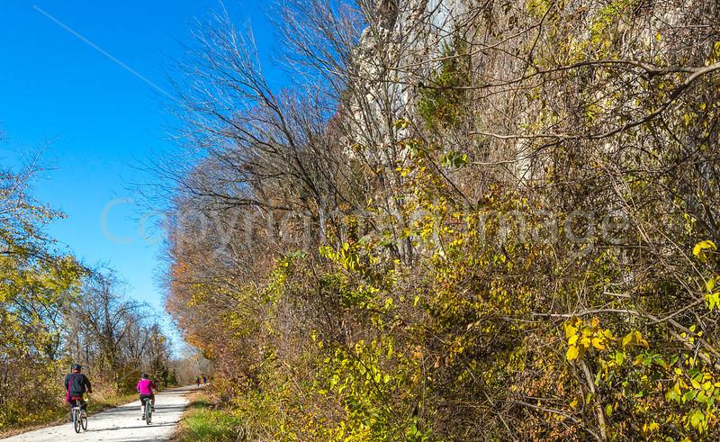 Katy Trail near Rocheport, Missouri - 11-9-13 - C1-0039 - 72 ppi