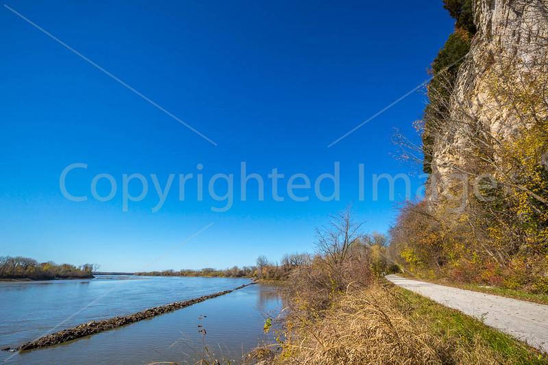 Katy Trail near Rocheport, Missouri - 11-9-13 - C1-0013 - 72 ppi