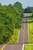 Cyclist on State Road (SR) Y near Gerald, Missouri - C4-0008 - 72 ppi