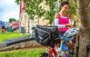 TransAmerica Trail cyclists at Al's Place Bicycle Hostel in Farmington, Missouri - C3-0001 - 72 ppi-2