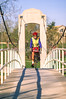 Cyclist in St  Louis, Missouri's, huge urban Forest Park - 4 - 72 ppi - 75% quality