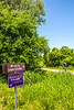 Cyclist(s) on Katy Trail, MKT turnoff for Columbia - C3-0192 - 72 ppi