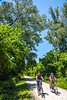 Cyclist(s) on Katy Trail, Rocheport to MKT turnoff for Columbia - C3-0246 - 72 ppi