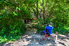Cyclist(s) on Katy Trail, Rocheport to MKT turnoff for Columbia - C2-B-0034 - 72 ppi