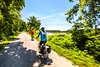 Cyclist(s) on Katy Trail, Rocheport to MKT turnoff for Columbia - C2-A-0322 - 72 ppi