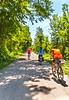 Cyclist(s) on Katy Trail, Rocheport to MKT turnoff for Columbia - C2-A-0308 - 72 ppi-2