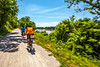 Cyclist(s) on Katy Trail, Rocheport to MKT turnoff for Columbia - C2-A-0300 - 72 ppi