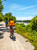 Cyclist(s) on Katy Trail, Rocheport to MKT turnoff for Columbia - C2-A-0300 - 72 ppi-2