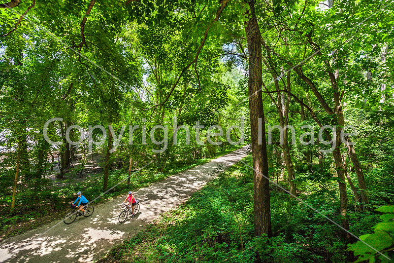 Cyclist(s) on Katy Trail, Rocheport to MKT turnoff for Columbia - C2-A-0435 - 72 ppi