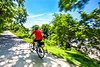 Cyclist(s) on Katy Trail, Rocheport to MKT turnoff for Columbia - C2-A-0324 - 72 ppi