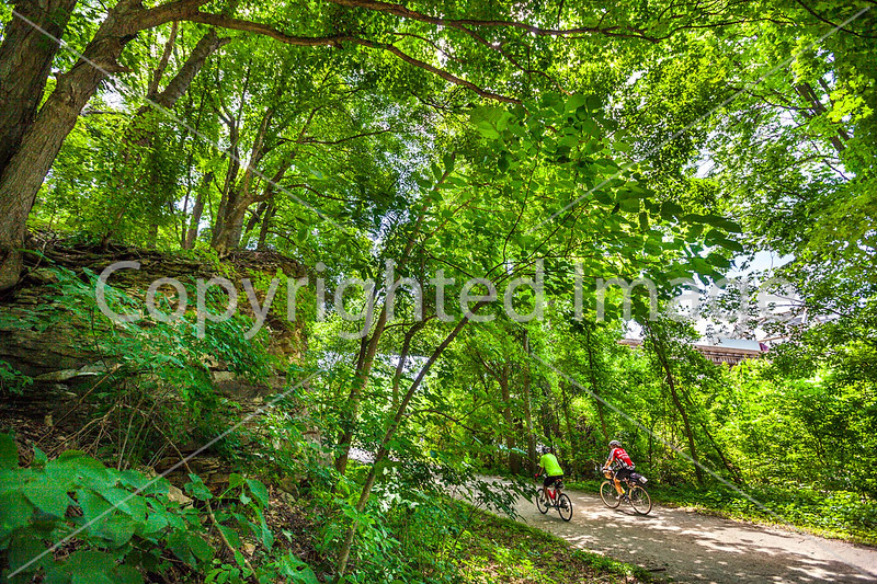 Cyclist(s) on Katy Trail, Rocheport to MKT turnoff for Columbia - C2-A-0448 - 72 ppi