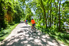 Cyclist(s) on Katy Trail, Rocheport to MKT turnoff for Columbia - C2-A-0286 - 72 ppi