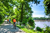 Cyclist(s) on Katy Trail, Rocheport to MKT turnoff for Columbia - C2-A-0290 - 72 ppi-3