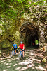 Cyclist(s) on Katy Trail; tunnel near Rocheport - C2-A-0102 - 72 ppi