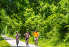 Cyclist(s) on Katy Trail, Rocheport to MKT turnoff for Columbia - C3-0255 - 72 ppi