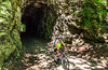 Cyclist(s) on Katy Trail; tunnel near Rocheport - C2-A-0198 - 72 ppi-3