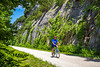 Cyclist(s) on Katy Trail, Rocheport to MKT turnoff for Columbia - C3-0178 - 72 ppi