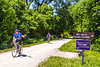 Cyclist(s) on Katy Trail, Rocheport to MKT turnoff for Columbia - C3-0226 - 72 ppi