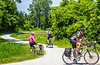 Cyclist(s) on Katy Trail, Rocheport to MKT turnoff for Columbia - C3-0214 - 72 ppi
