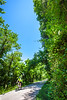 Cyclist(s) on Katy Trail, Rocheport to MKT turnoff for Columbia - C2-A-0220 - 72 ppi