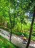 Cyclist(s) on Katy Trail, Rocheport to MKT turnoff for Columbia - C2-A-0409 - 72 ppi-2