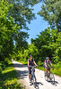 Cyclist(s) on Katy Trail, Rocheport to MKT turnoff for Columbia - C3-0246 - 72 ppi-3