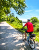 Cyclist(s) on Katy Trail, Rocheport to MKT turnoff for Columbia - C2-A-0325 - 72 ppi-2
